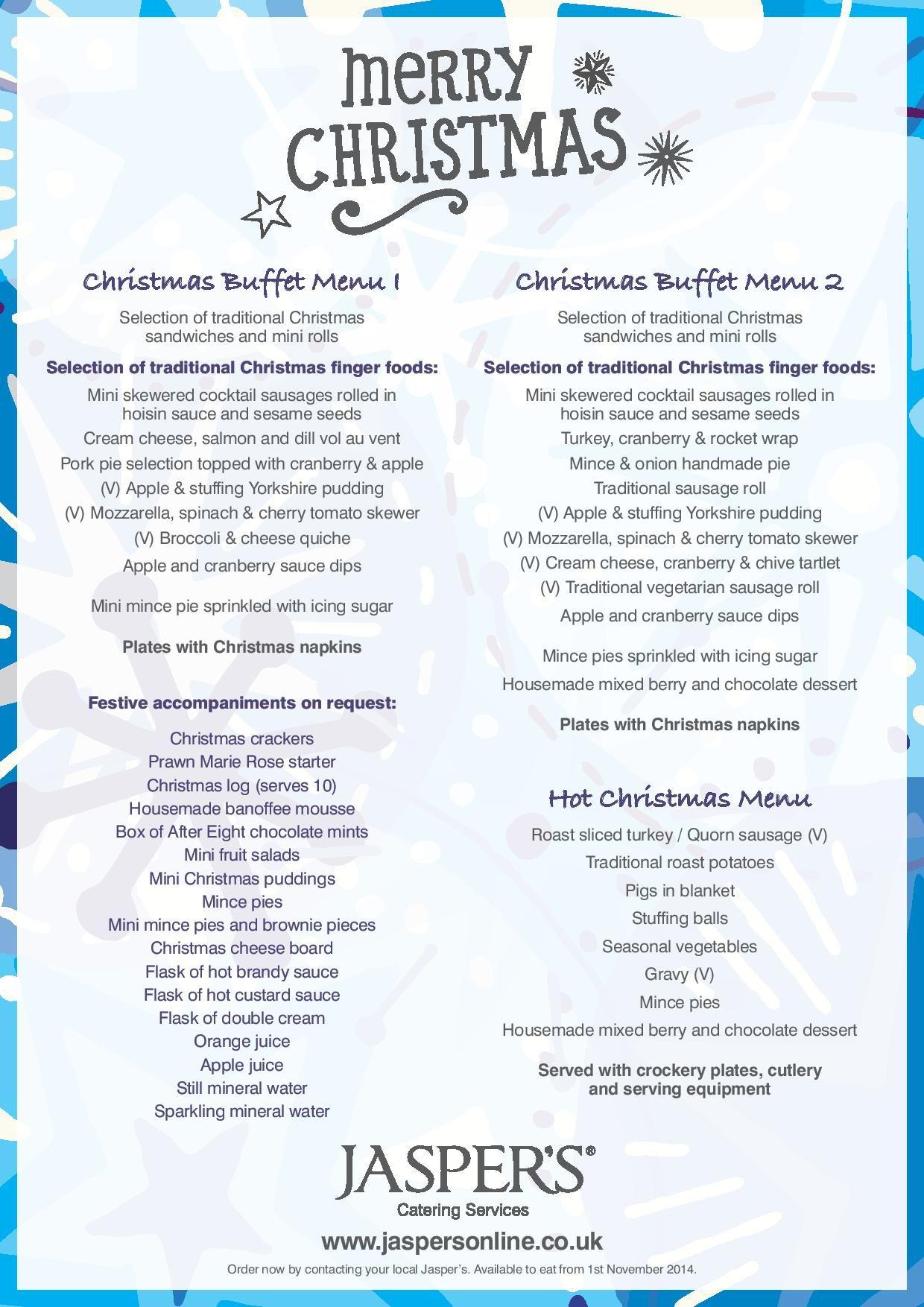 Christmas Buffet Menus.Pin By Jasper S Sunderland On Introduction To Jasper S