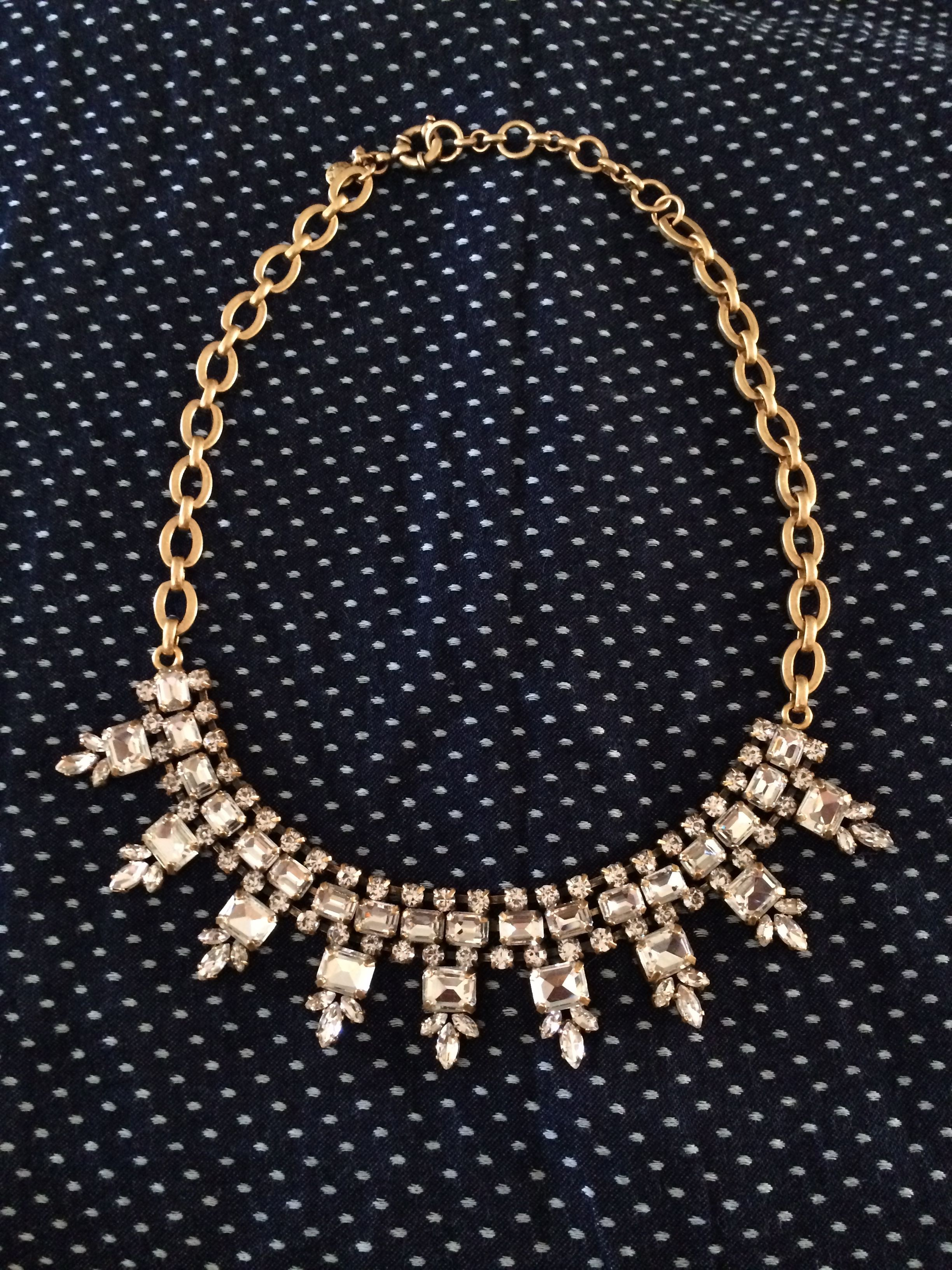 J Crew Statement Necklace. Have it & love it. So classy & timeless. Goes with everything.