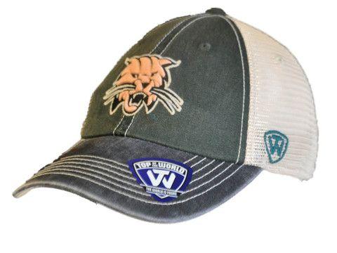 Ohio Bobcats Top of the World Green Black Offroad Adj Snapback Hat Cap