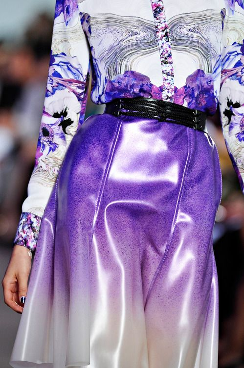 """cigarettes-and-chocolate-milk: """" double—entendre: """" Prabal Gurung- Spring 2012 """" """""""