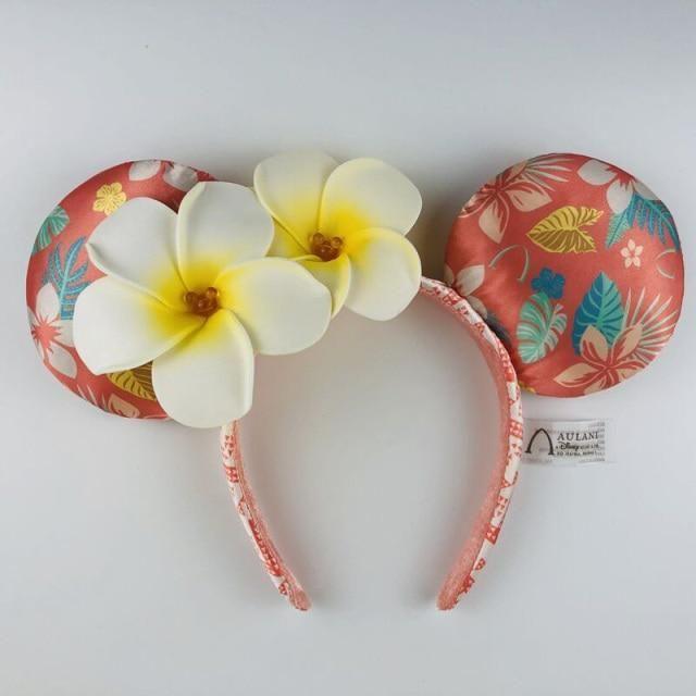 Photo of Disney Headband Minnie Ears For Women Mermaid Ariel Headdress Cartoon Anime Disneyland Mickey Mouse Bow Sequins Hair Hoop – K