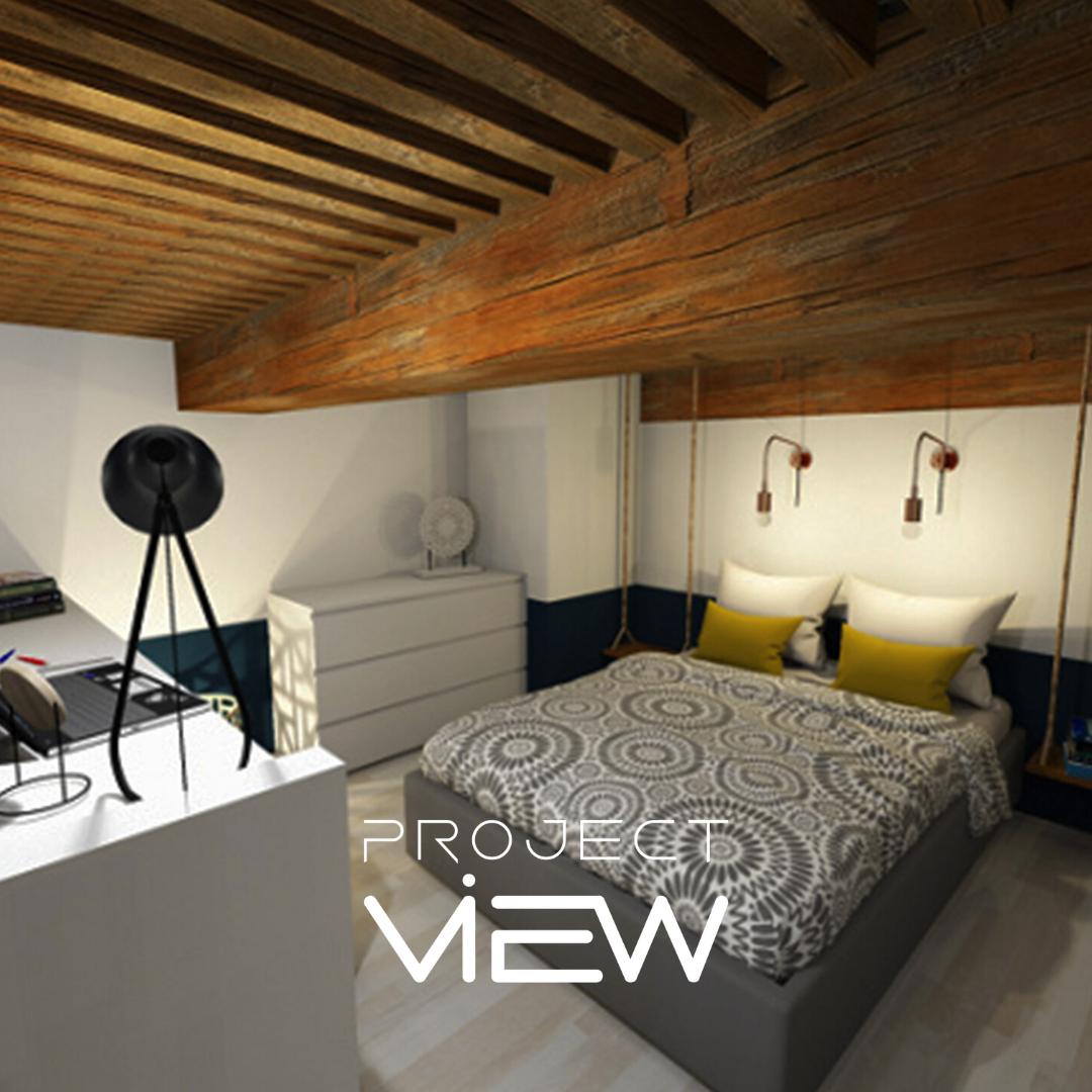 Projet 3D ProjectView. Notre bureau d'études vous accompagne aussi dans la décoration intérieur de vos projets.  #projectview #designespace #spaceplanning #spaceplanner #plan3d #decorationinterieur #planchedeco