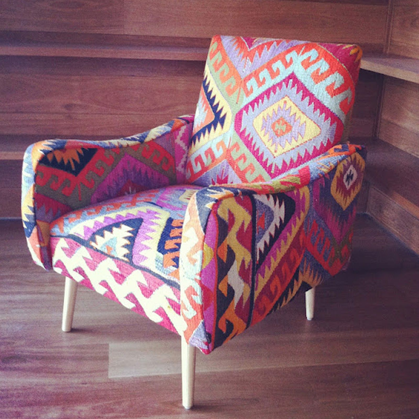 Superior Kilim Covered Chair Via Absolutely Beautiful Things  Www.madmotherdesign.blogspot.com