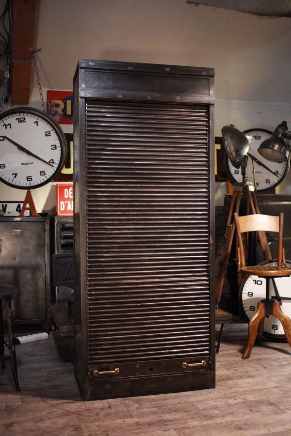 meuble industriel ancien de metier deco loft L I V I N G