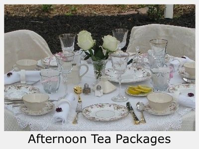 English Tea Table Settings | ... Rental, Hosted Tea Events, Event ...