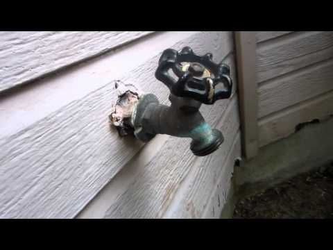 The Geek Redneck - Repairing A Leaky Outdoor Faucet! - YouTube ...