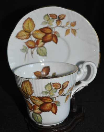 Crown Staffordshire England Unknown Golden Autumn Leaves