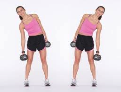 The Hourglass Workout: 8 Exercises to Sculpt a Tiny Waist and Bubble Butt from trainer Christina Carlyle.