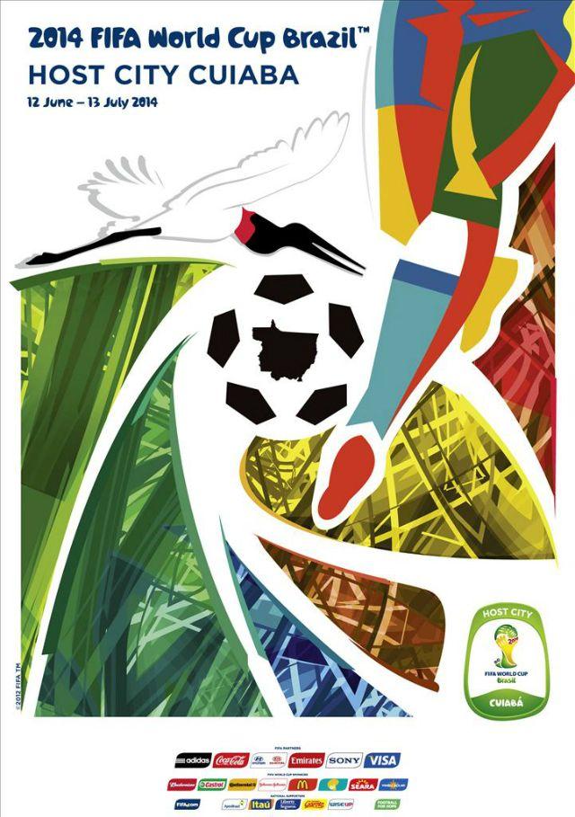 Los Carteles Oficiales Del Mundial De Brazil 2014 Copa Del Mundo 2014 Copa Del Mundo Campeonato Mundial De Futbol
