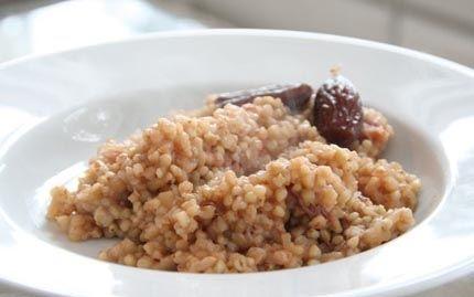 Uuniohrapuuro / Oven baked porridge