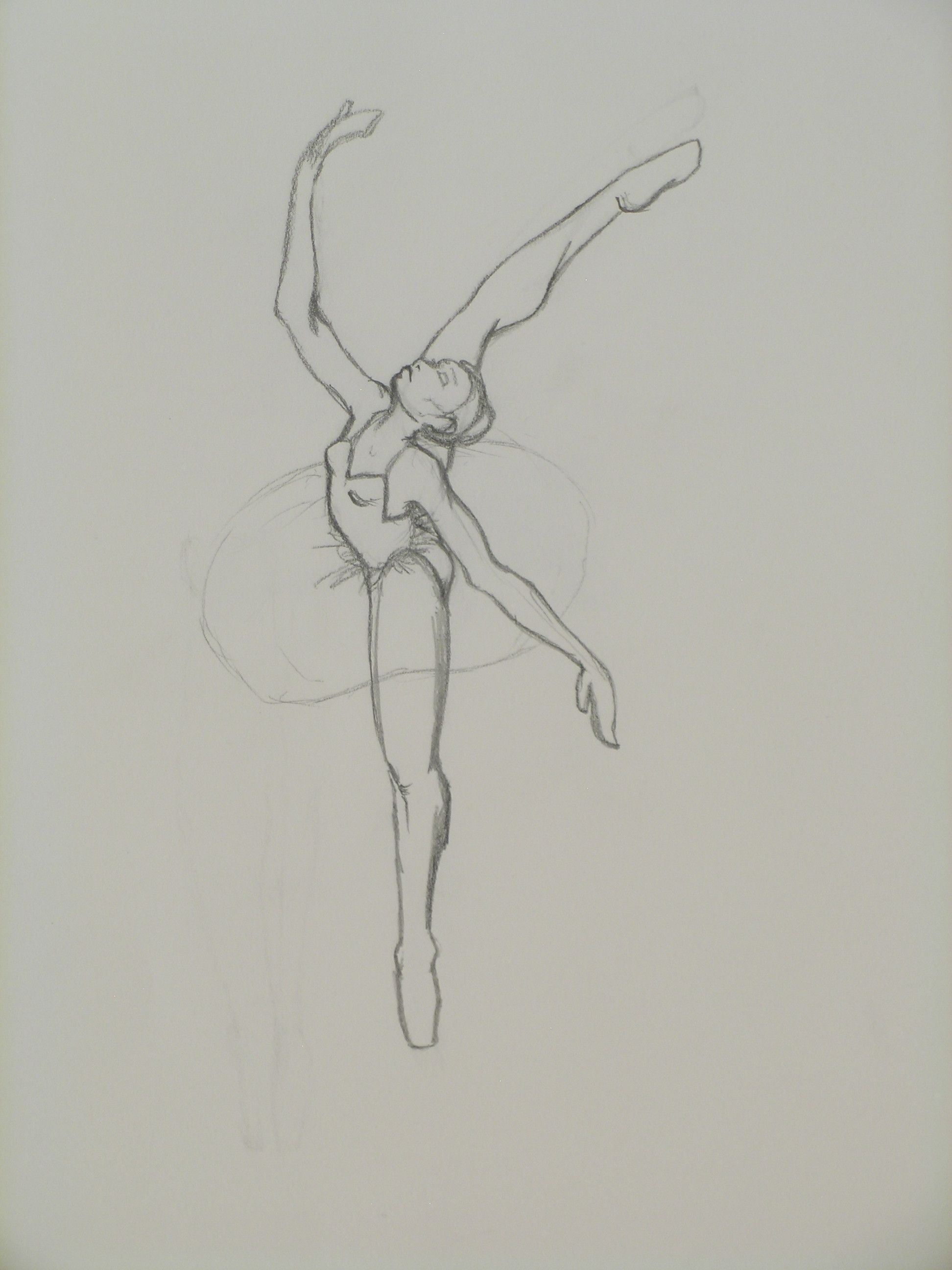 Ballerina15 Ballet Drawings Silhouette Drawing Ballerina Sketch