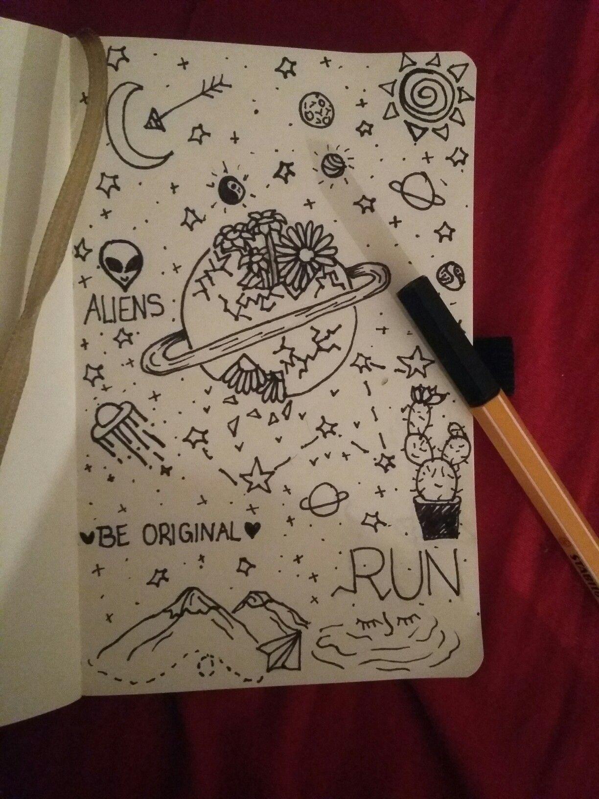 Zeichnen Zeichnungen Tumblr Collage Doodle Pics Drawings