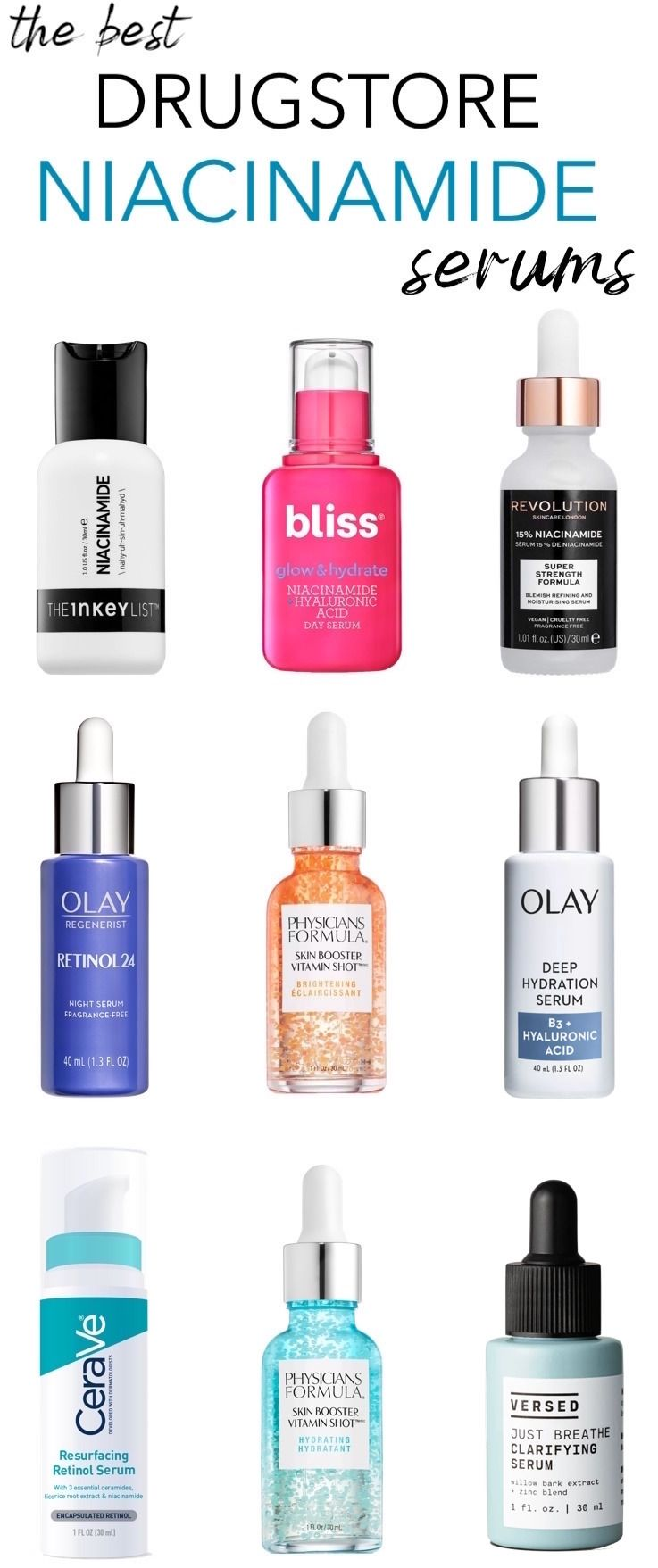 The Best Drugstore Niacinamide Serums To Minimize Large Pores And