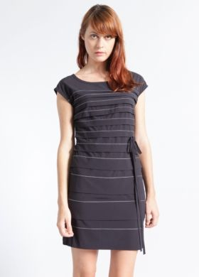 Wavelength Pleated Dress