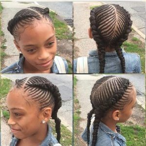 Braid Hairstyles For Girls 20 Hairstyles For Little Black Girls  Pinterest  Black Girl Braids
