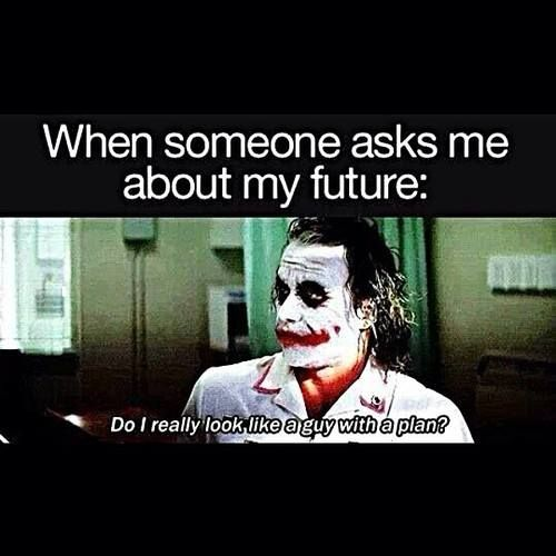 Do I Really Look Like A Guy With A Plan Joker Funny With