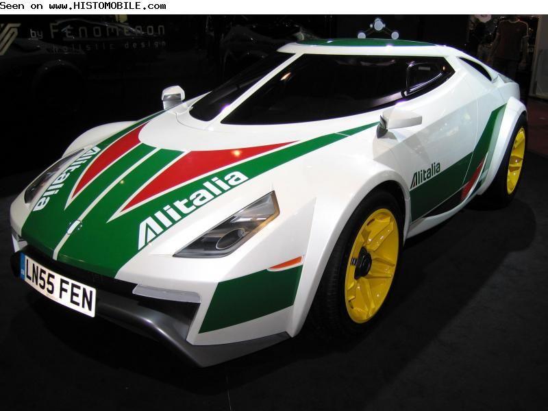 Lancia Fenomenon Stratos Concept - Rally Car (2005)