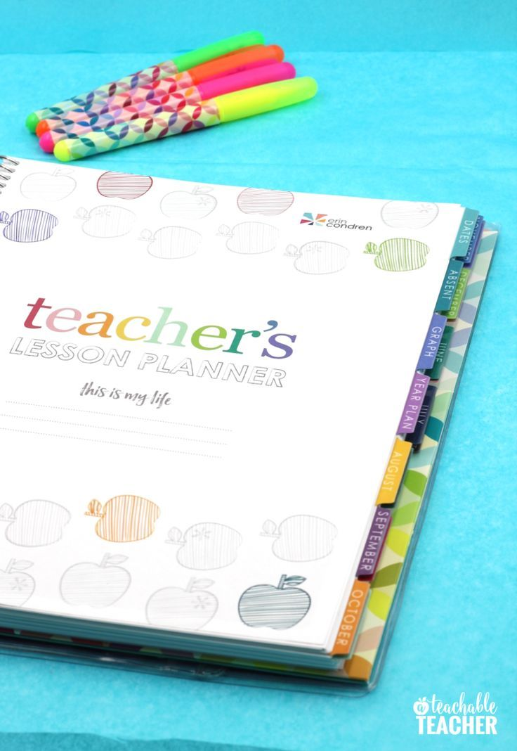 The Best Teacher Planner Ever A Peek Inside! Teacher