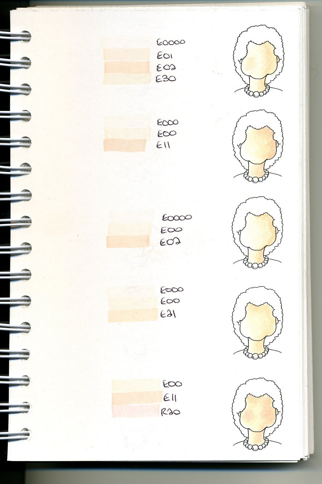 Cat\'s Creations: Copic Swatch Book... | Copic - Color Combo\'s ...