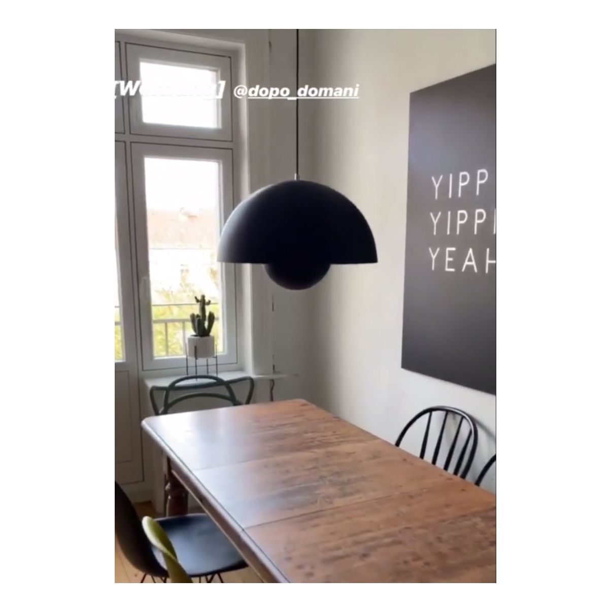 Dopo Domani Is Featured On Interior Design Blog And Instagraam Profile Elbgestoeber With The And Tradition Flowerpot Shop Now On Ww Dopo Inredning Lampor