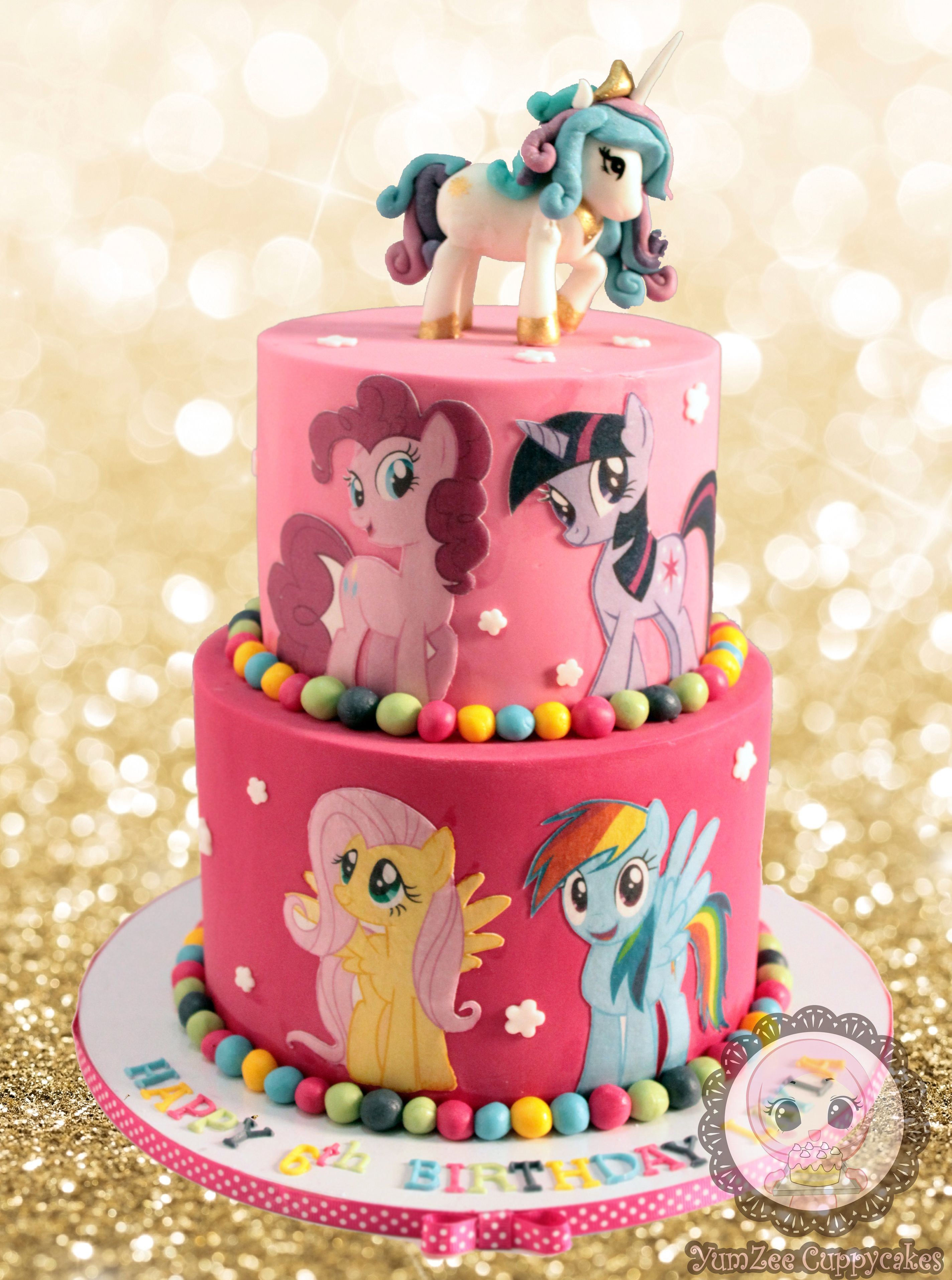 My Little Pony Cake Little Pony Cake My Little Pony
