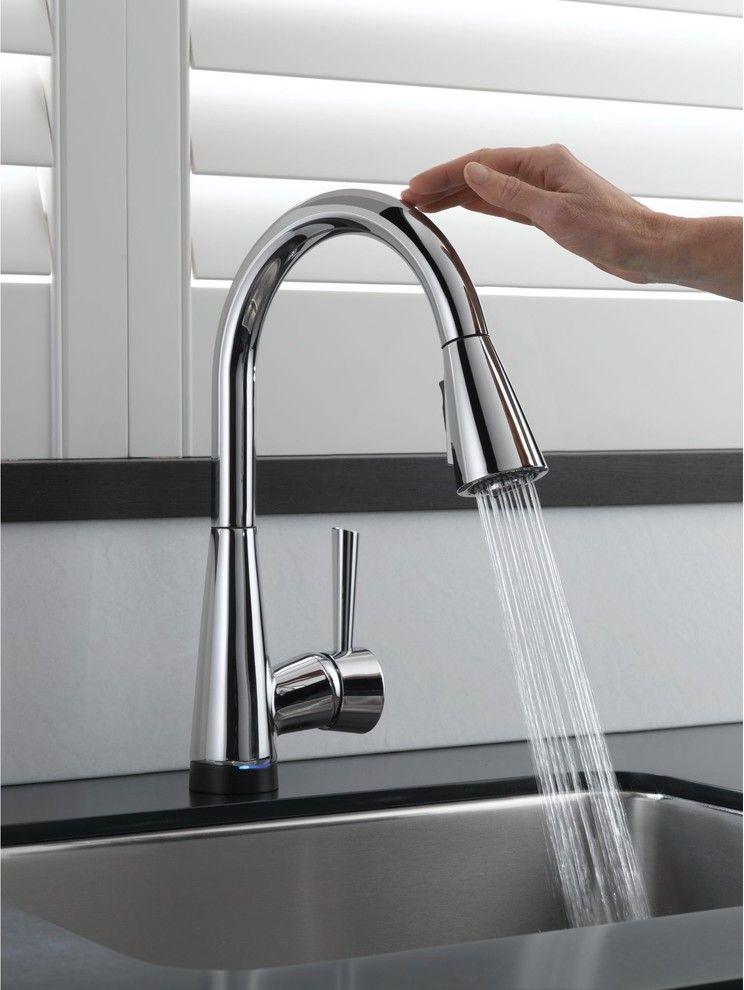 Brizo Venuto Smarttouch Faucet Contemporary Kitchen Faucets Brizo Mit Bildern Kuchenarmaturen Moderne Kuche