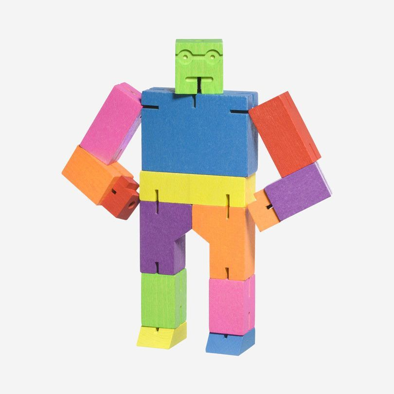 Cubebot Small – Multi #kids #toys #robot