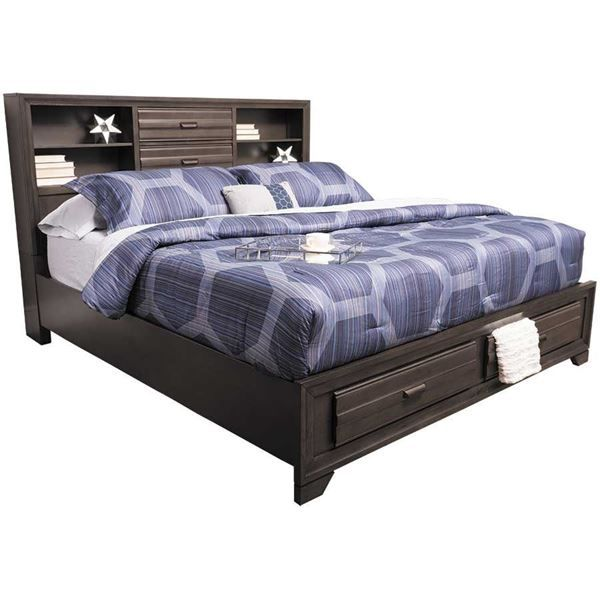 King Storage Bed, Afw Queen Bed Frame