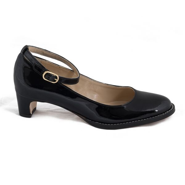 94€ | Mid heel shoe, certified ecological microfiber OEKO-TEX, breathable and antiallergic. Ecological, free of CO2 emissions in their manufacture. MADE IN PORTUGAL