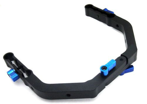Pro-C-Shape-Support-Cage-for-15mm-rod-Rig-rail-system-5D2-5D3-60D-7D-DSLR-new