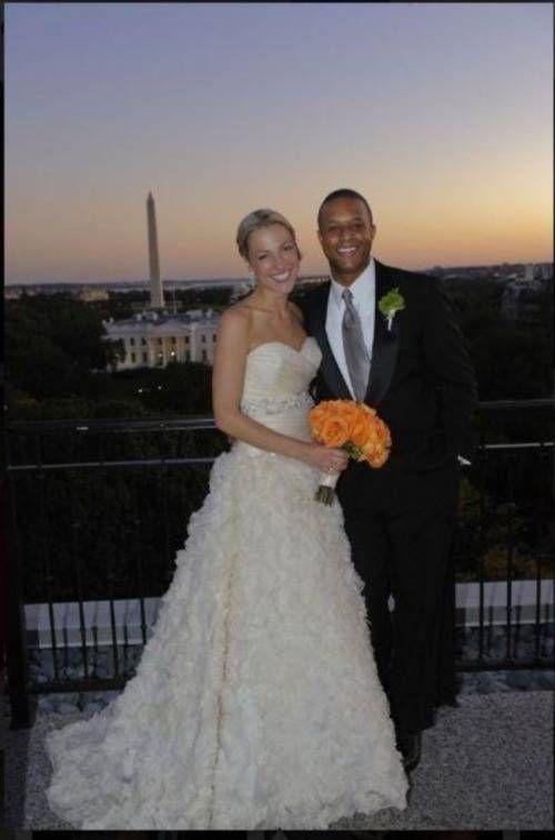 Lindsay Czarniak and Craig Melvin wedding