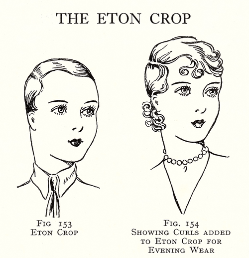 1920 S Hairdo The Eton Crop From The Art And Craft Of Hairdressing