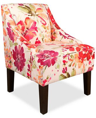 Glendale Paint Palette Fabric Accent Chair, Direct Ships for just ...