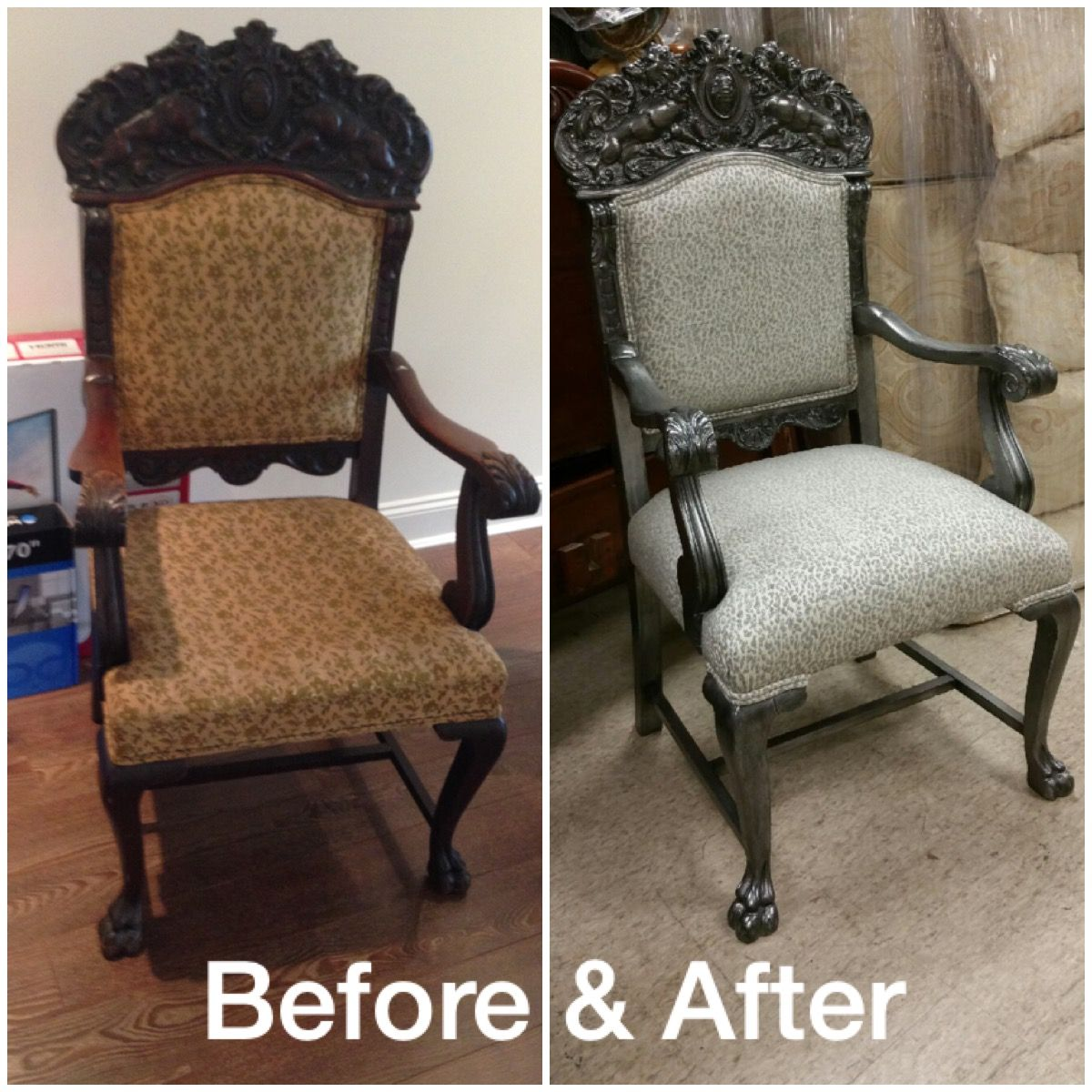 Before And After Pictures Of The Restoration Work