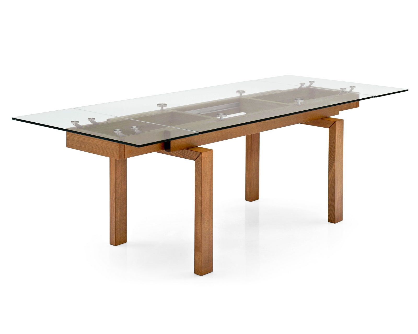 The Calligaris Hyper extendable glass table at