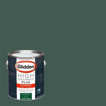 Glidden High Endurance Plus Exterior Paint and Primer, Deep Shaded Grove, #30GG 11/099