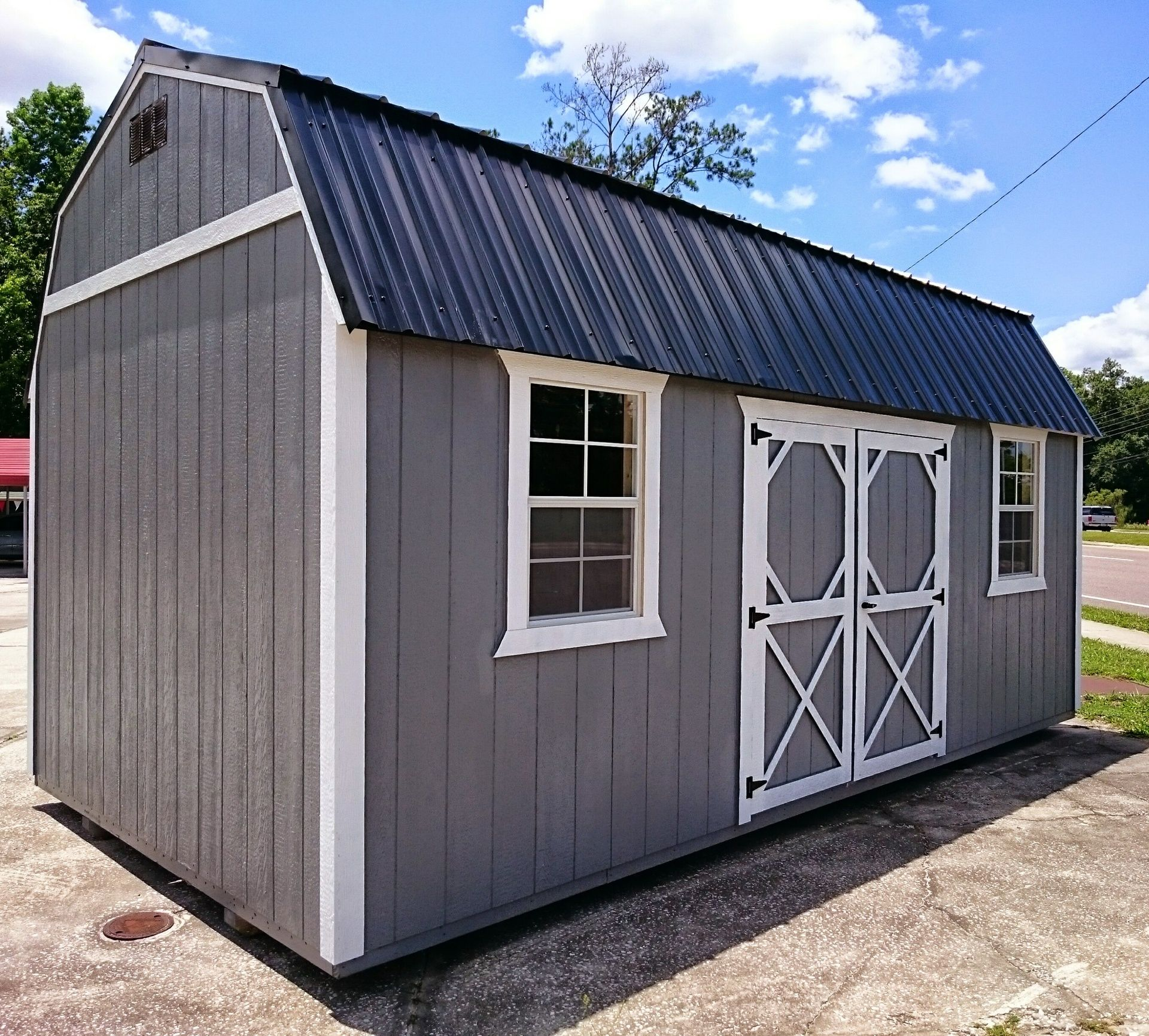Gray Sheds Metal Roof Google Search Shed Colours Shed