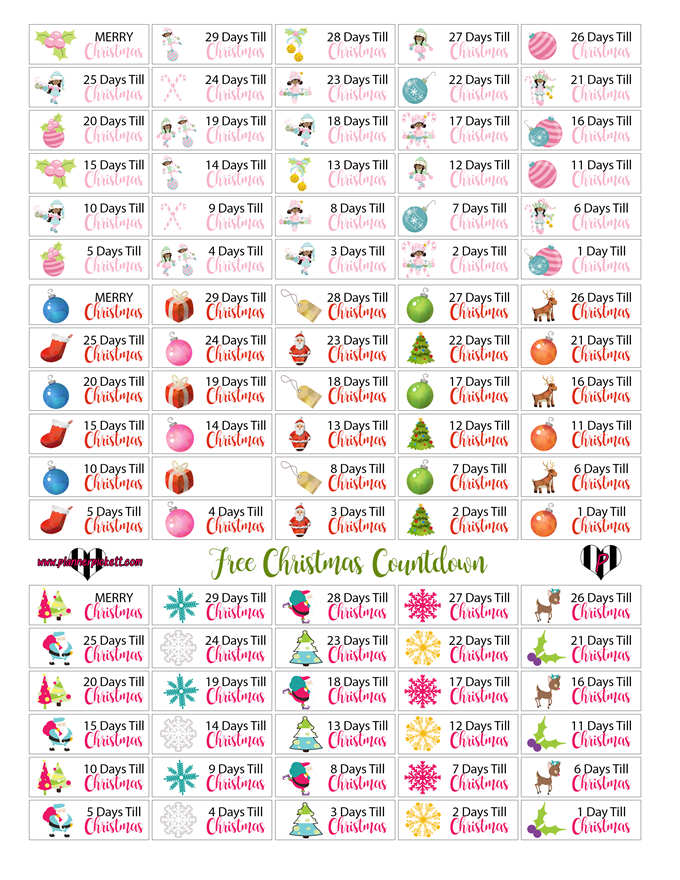 graphic about Christmas Planner Printable referred to as Xmas Planner Printables Planner Stickers No cost
