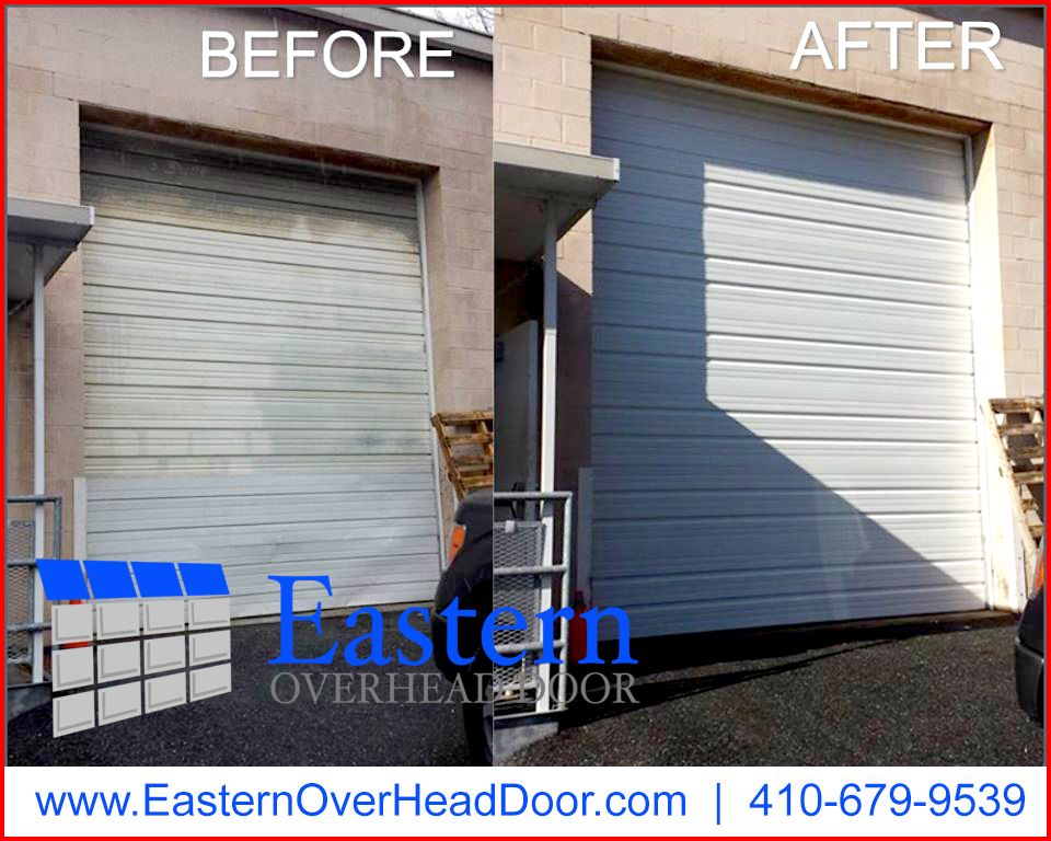 up residential garage eastern mounted interior roll externally doors door