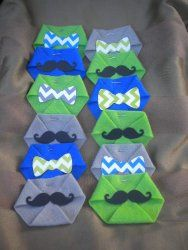 Bowties And Mustaches Themed Baby Shower | Time For The Holidays