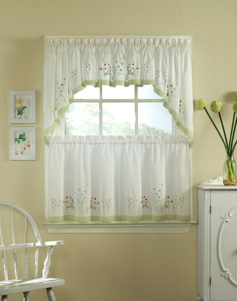 Kitchen window treatment ideas  effigy of jcpenney kitchen curtain u stylish drape for cooking space