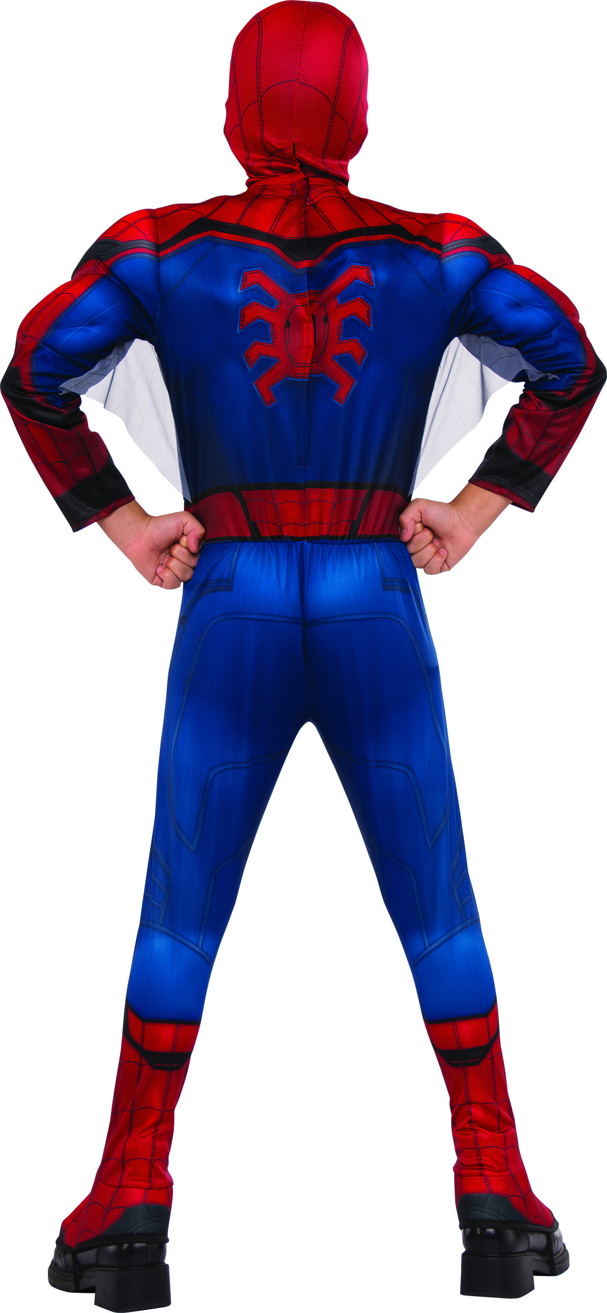spider man homecoming back of costume your guide for 2017 costumes rh pinterest com spiderman costume hoodie jacket Spider-Man Logos Color Page Print