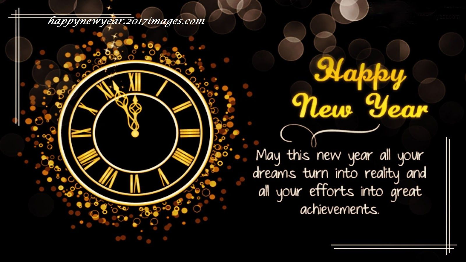 Top 18+ Happy New Year 2017 Wallpapers, Happy New Year Wallpapers ...