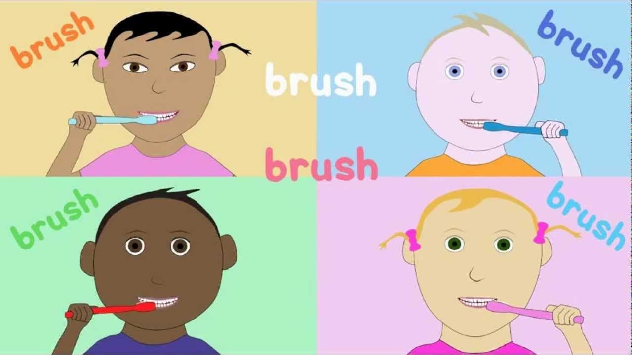 how to teach a child to brush their teeth