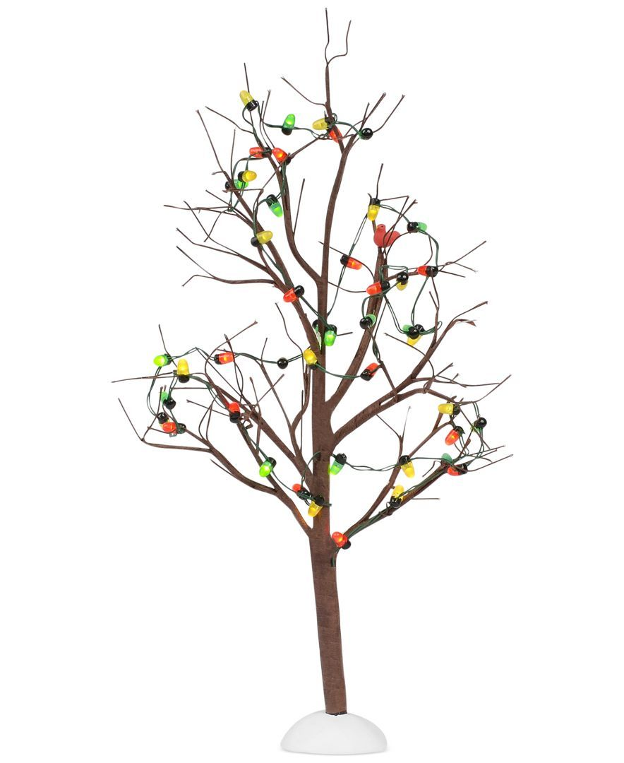 Department 56 Lighted Christmas Bare Branch Tree With Images Christmas Tree Decorations Tree Decor Holiday Decor Christmas