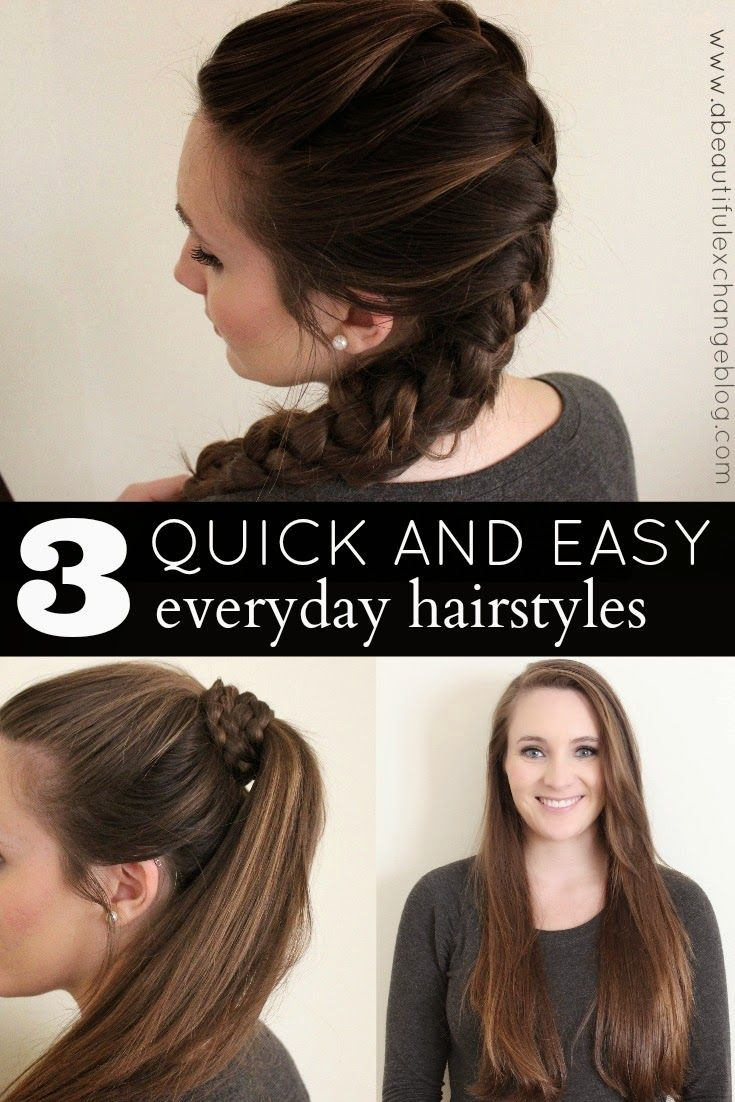 quick and easy hair styles for every day heartmyhair cbias