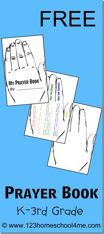FREE Prayer Book for Kids | Printables | Pinterest | Homeschool ...