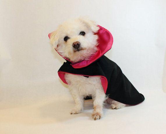 New Dog Costume Dracula Vampire Dog Costume Cape By