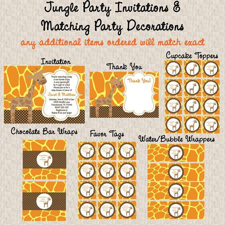 gender-neutral-giraffe-baby-shower-invitations-decorations.jpg 750×750 pixels