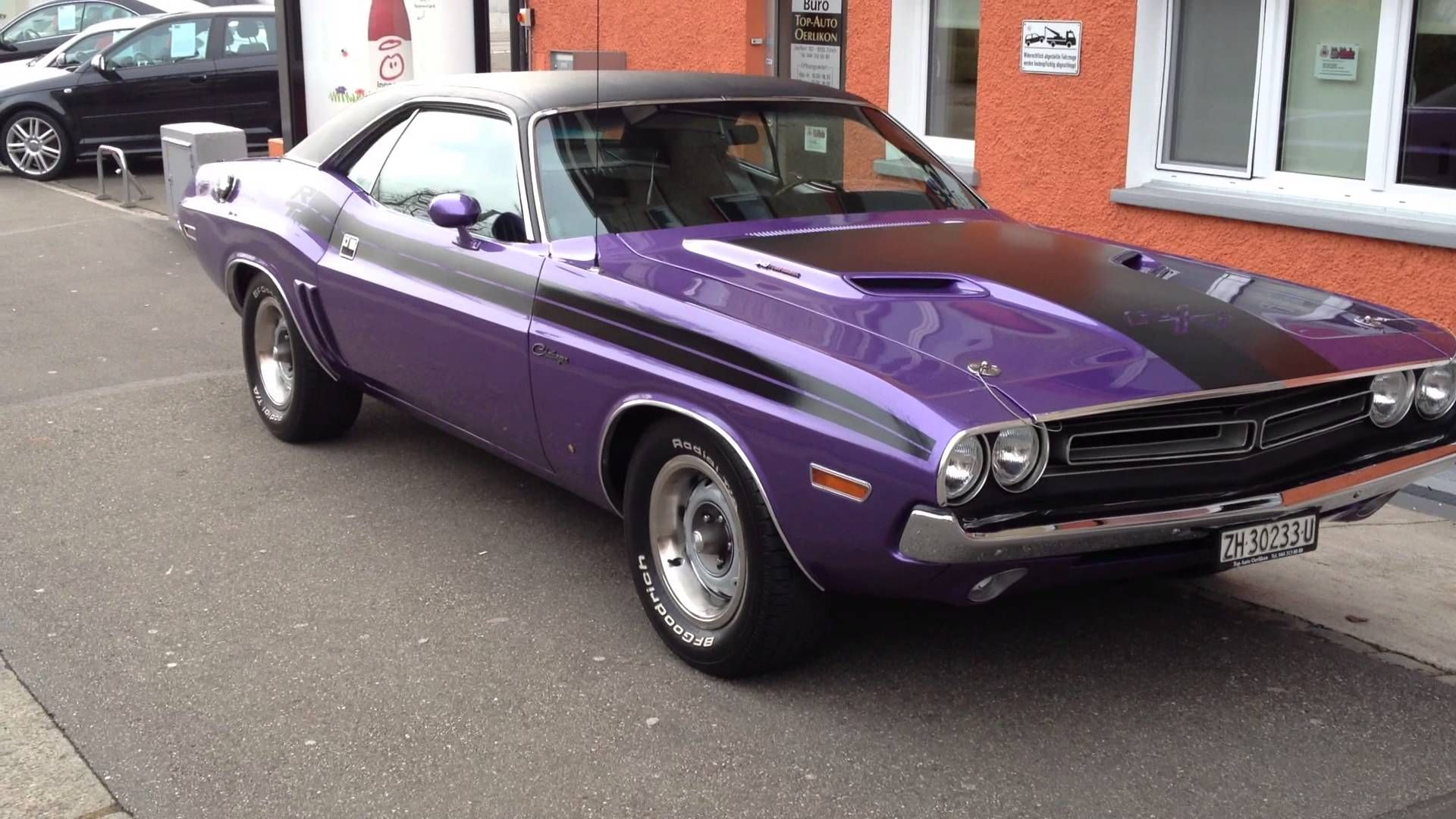 Image Result For 71 Dodge Challenger Purple Car Stuff Dodge